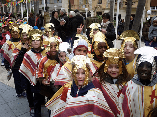 Photo of Carnival of schools in Beausoleil