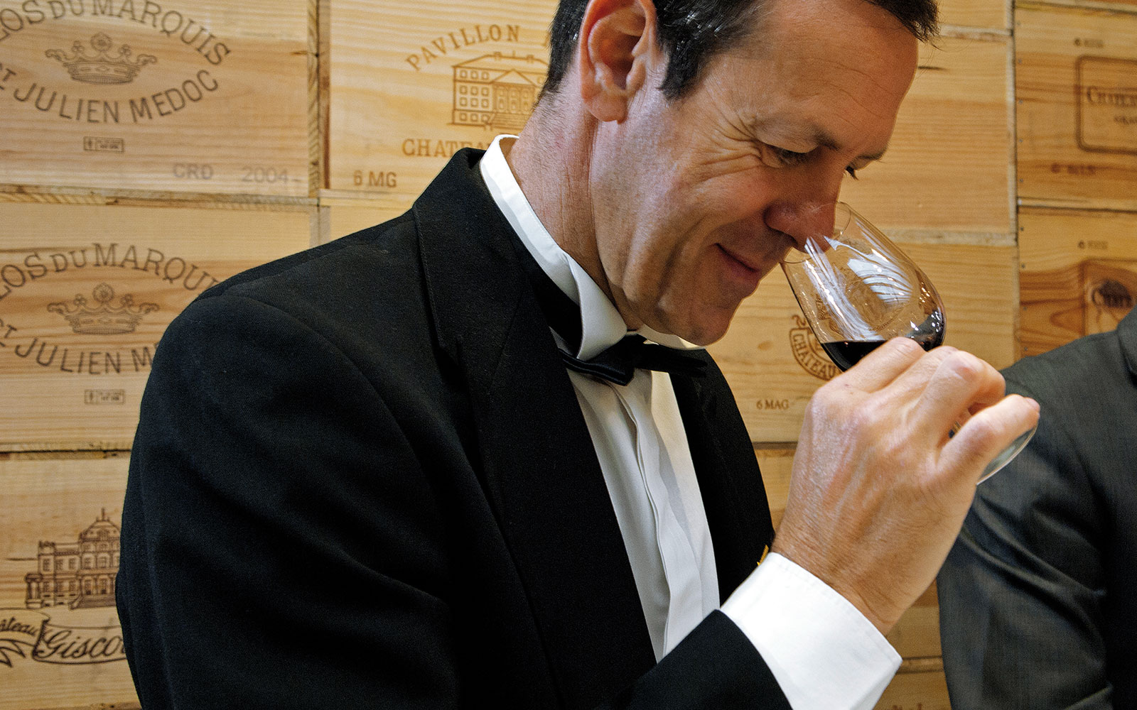 Chief Sommelier Patrice Frank