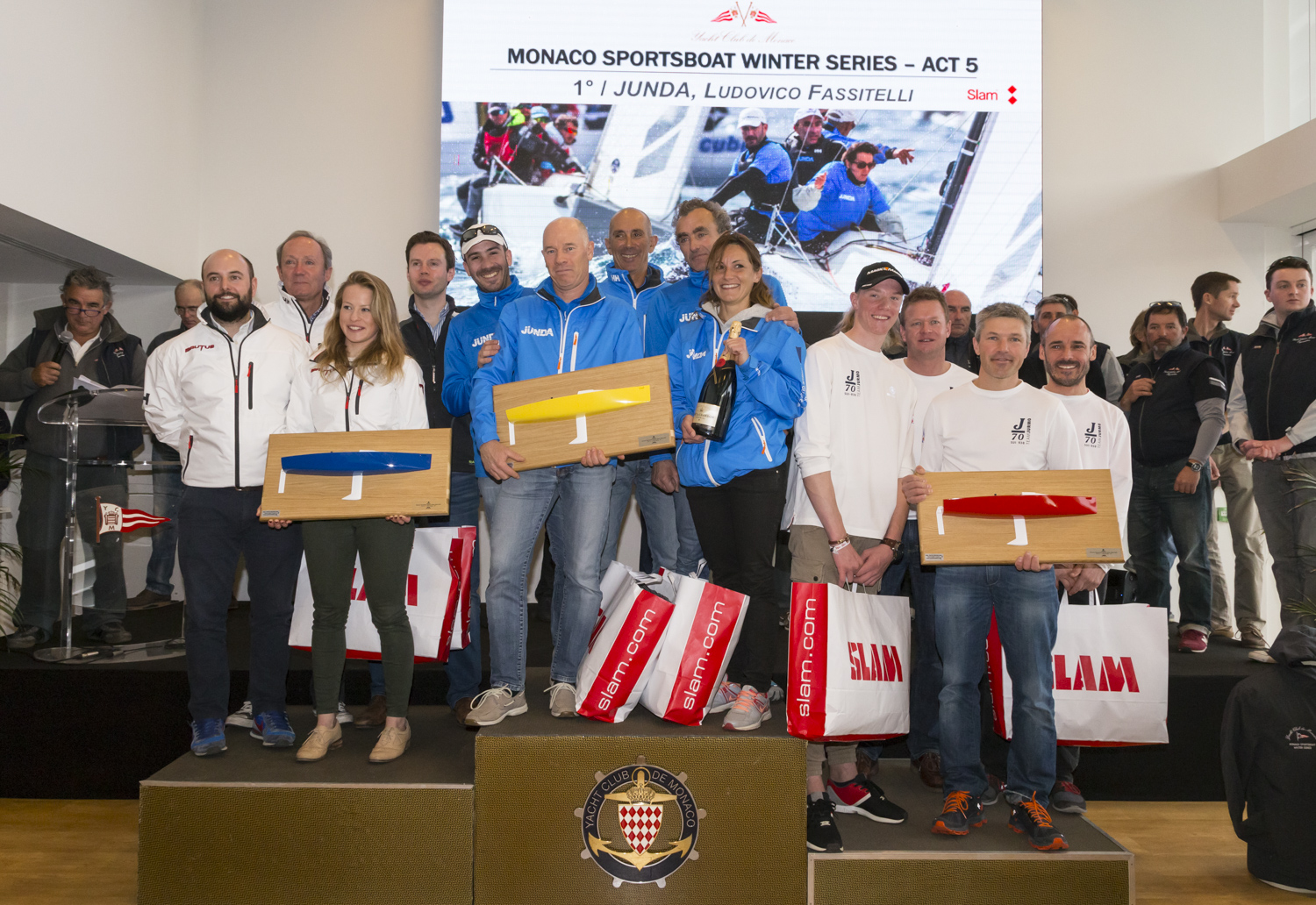Monaco Sportsboat Winter Series 2017 - ACT 5
