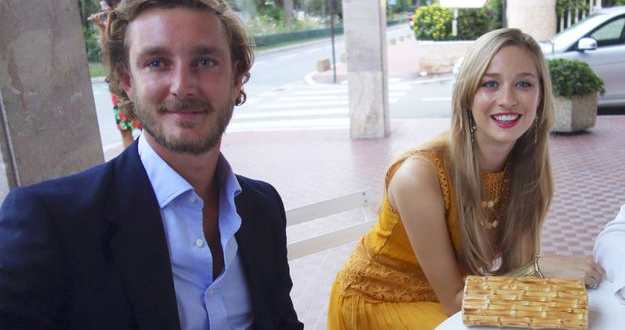 Beatrice Borromeo and her husband Pierre Casiraghi