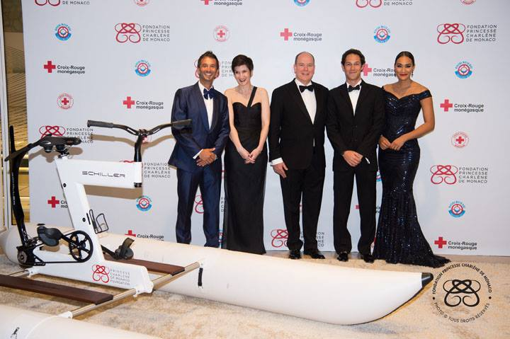 Riviera Water Bike Challenge gala dinner