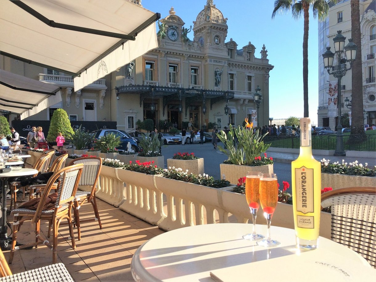 L'Orangerie Monte-Carlo at the Cafe de Paris