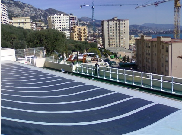 solar panals on Monaco roofs