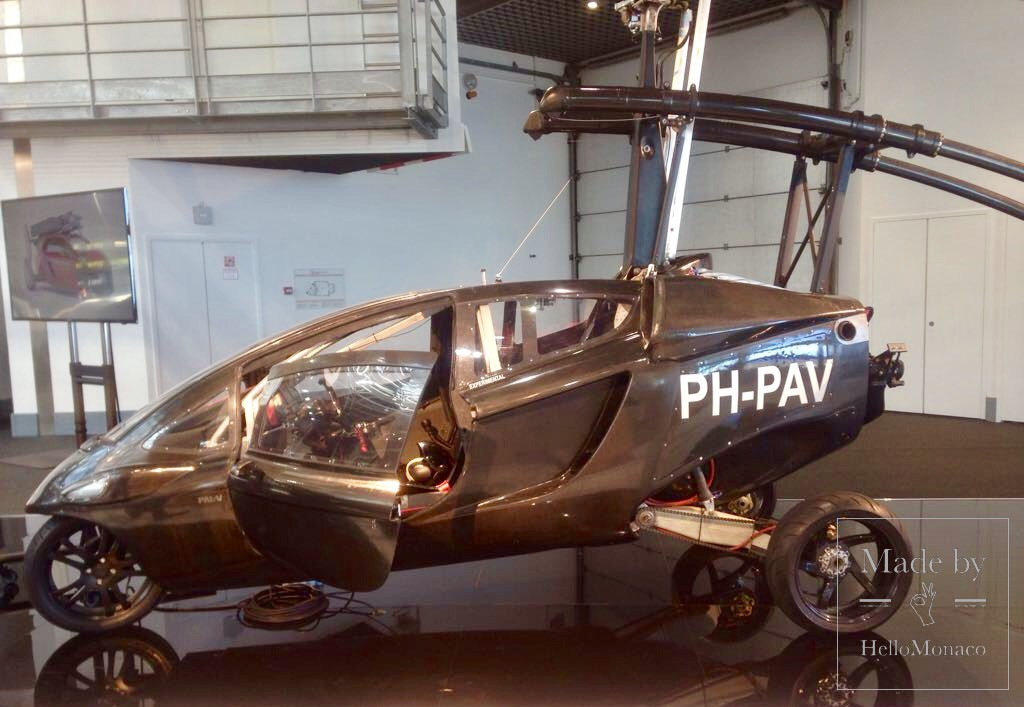 Photo of Top Marques-2017: flying car and other gadgets in Monaco