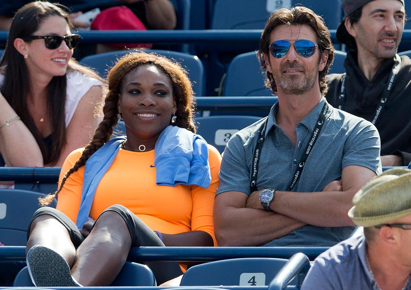 Patrick Mouratoglou and Serena Williams
