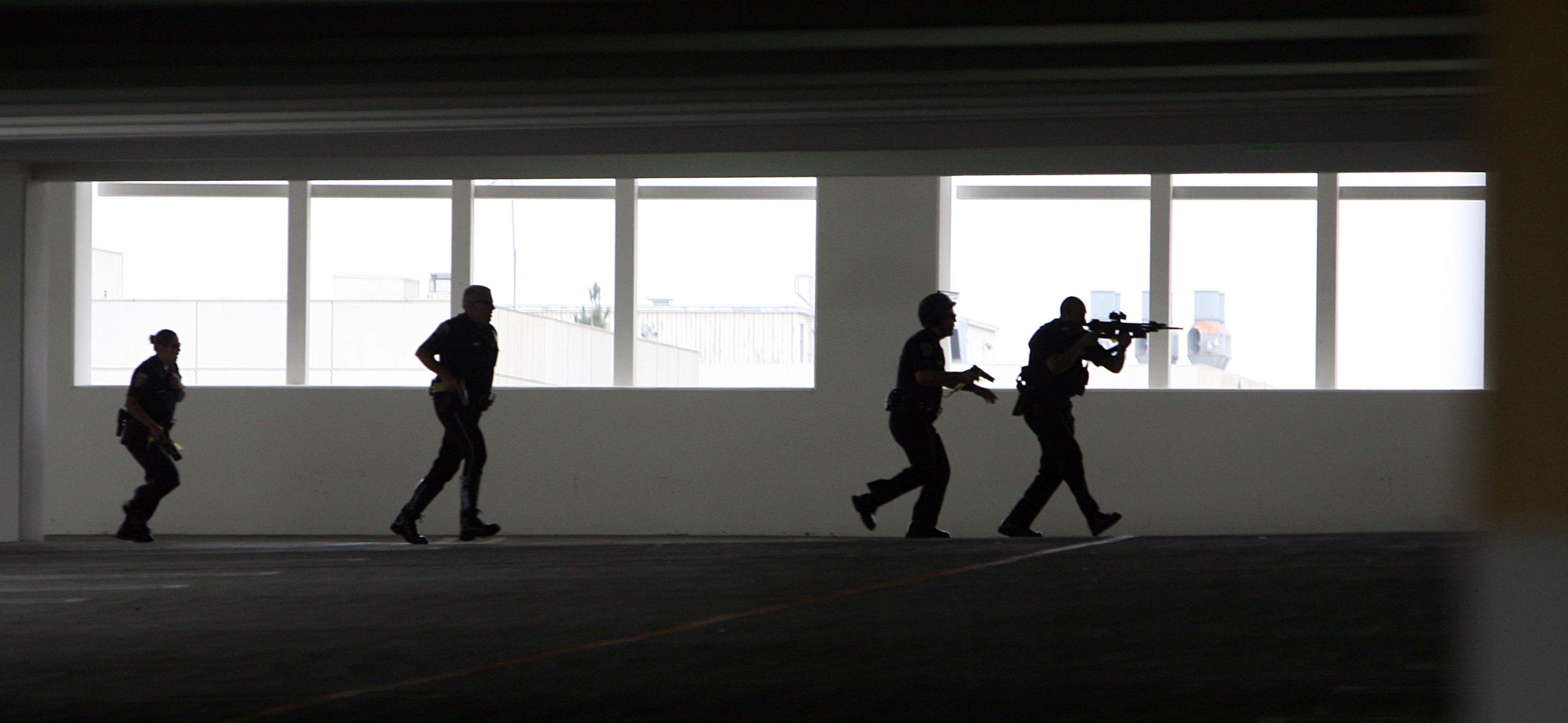 police exercise