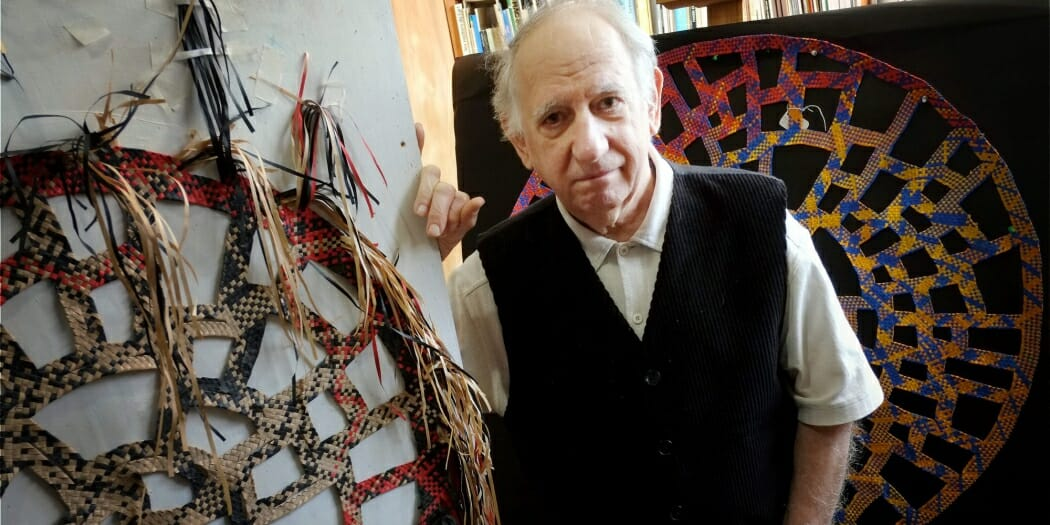"Photo of Odon artist, the ""weaver of dreams"""