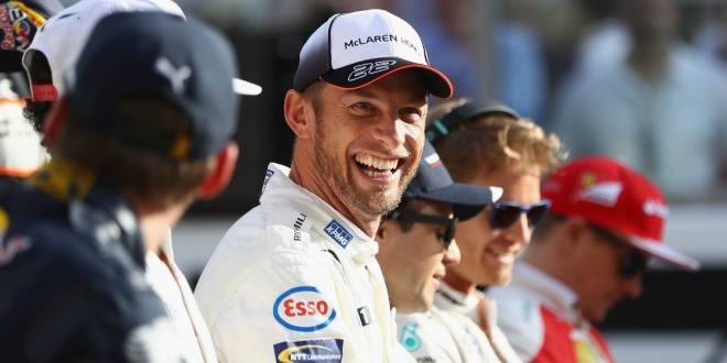 Jenson Button ahead of his last Grand Prix in 2016 (Getty)