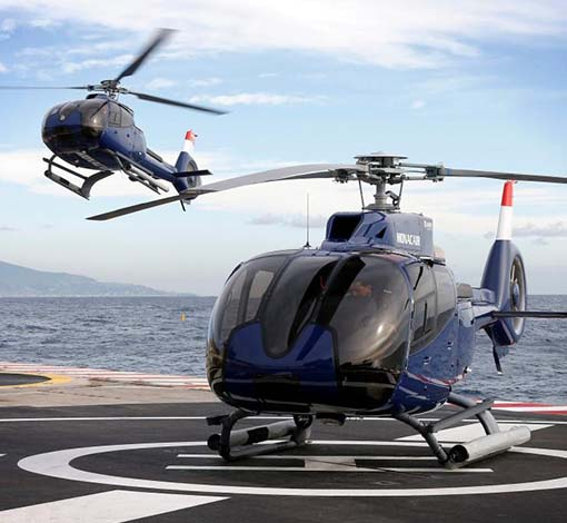 Photo of Helicopters traffic to Monaco for Grand Prix