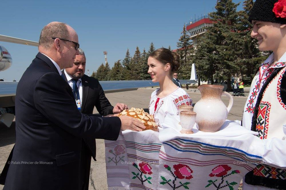Prince Albert's First Visit to Moldova