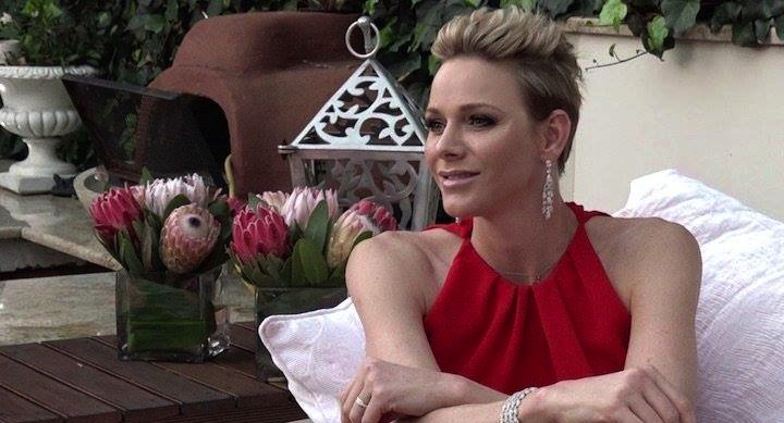 """Photo of Princess Charlene of Monaco: """"I am African and this is my heritage"""""""