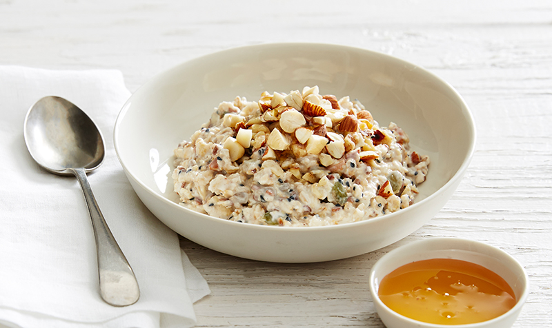 Fruit Free Bircher Muesli