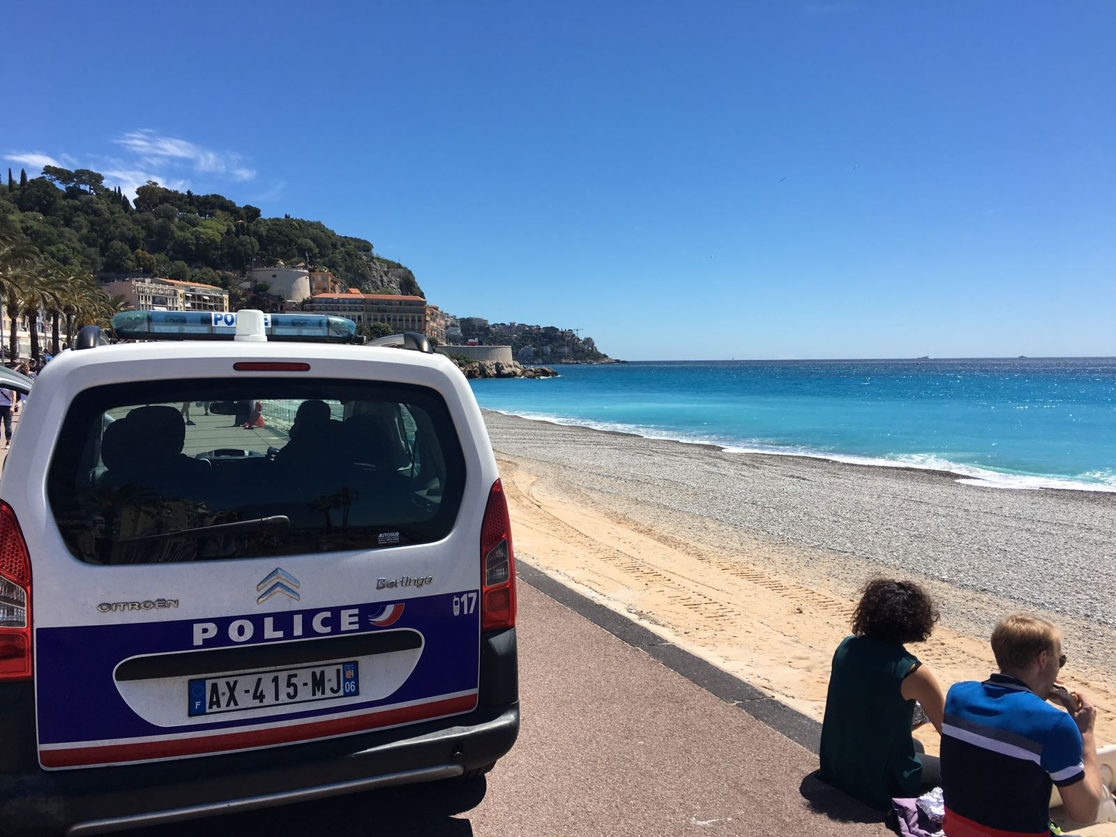 Photo of WWII Bomb found in Nice was neutralized today