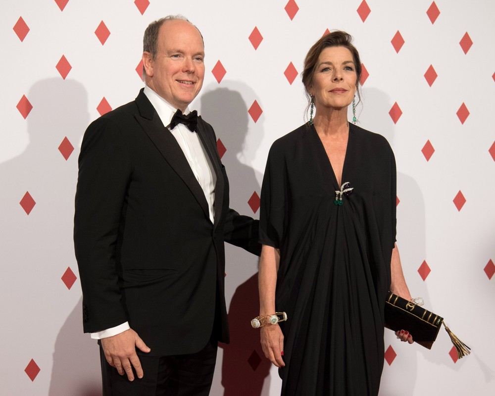Prince Albert II and Princess of Hanover