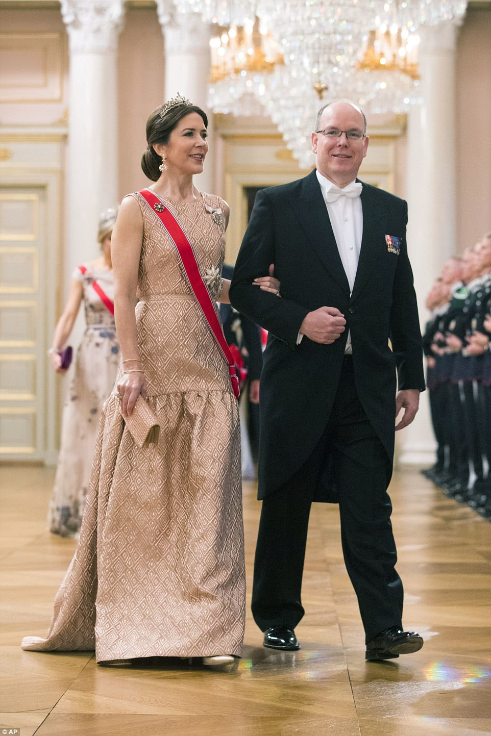 Prince Albert II with Princess of Denmark