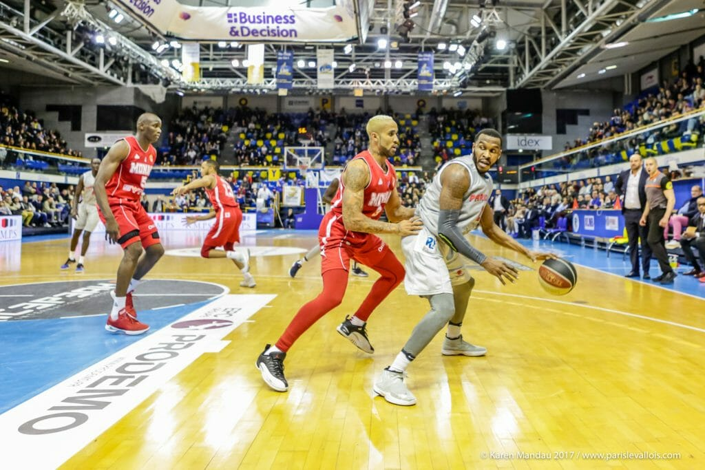 Roca team vs Paris-Levallois