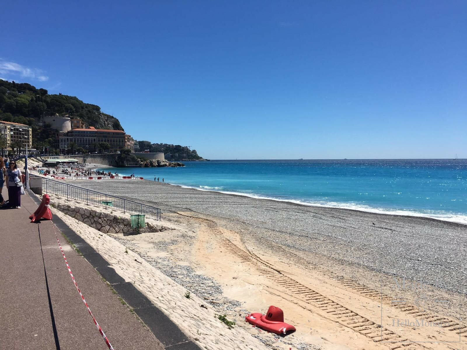 Photo of 250kg bomb found off the shores of Nice