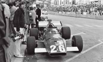 Roman Polanski, Formula 1 Grand Prix of Monaco in 1971 © Courtesy of Monte-Carlo SBM