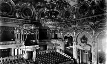 The Salle Garnier Opera House at the Casino de Monte-Carlo