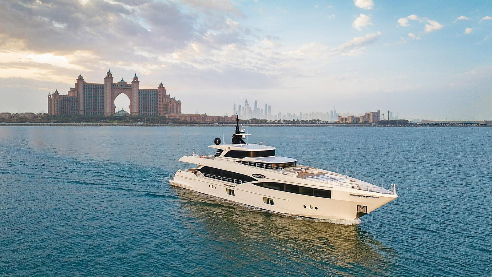 Gulf Craft Majesty 100 yacht