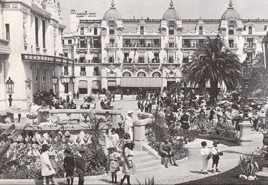 The Place du Casino in Hollywood in 1922| © Courtesy of Monte-Carlo SBM