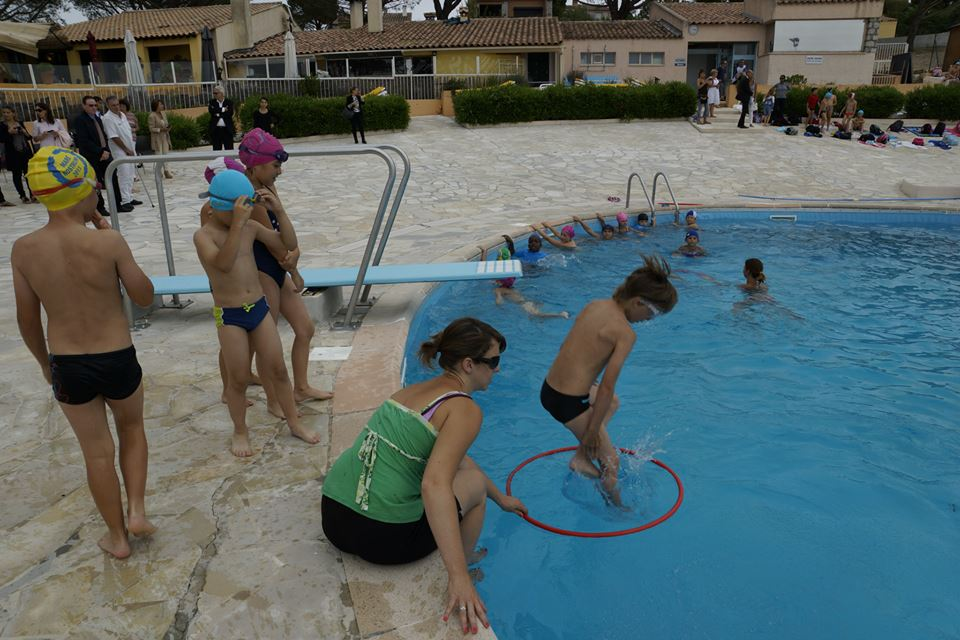 La Turbie swimming pool