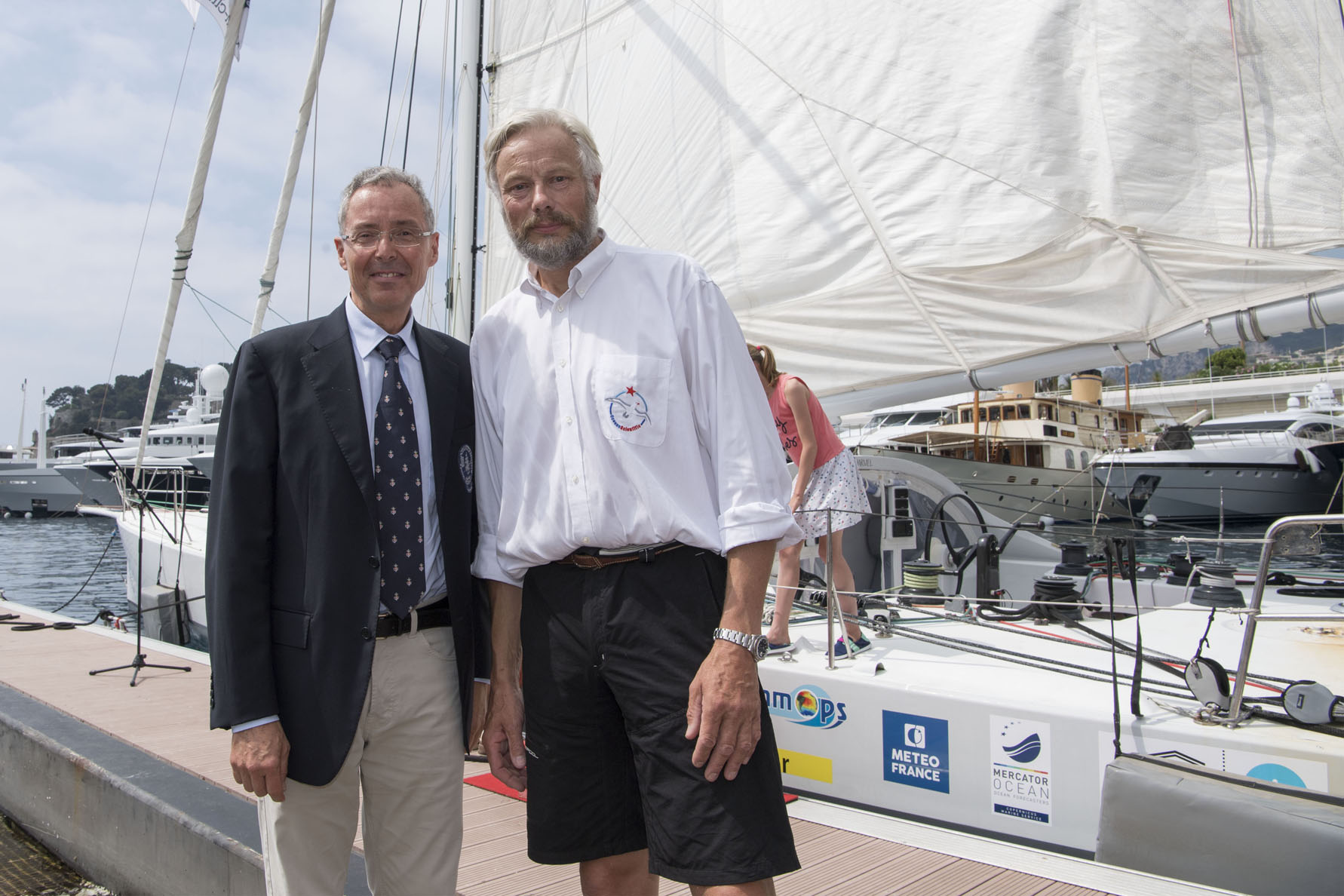 Yvan Griboval terminates at Monaco his around the world ​expedition