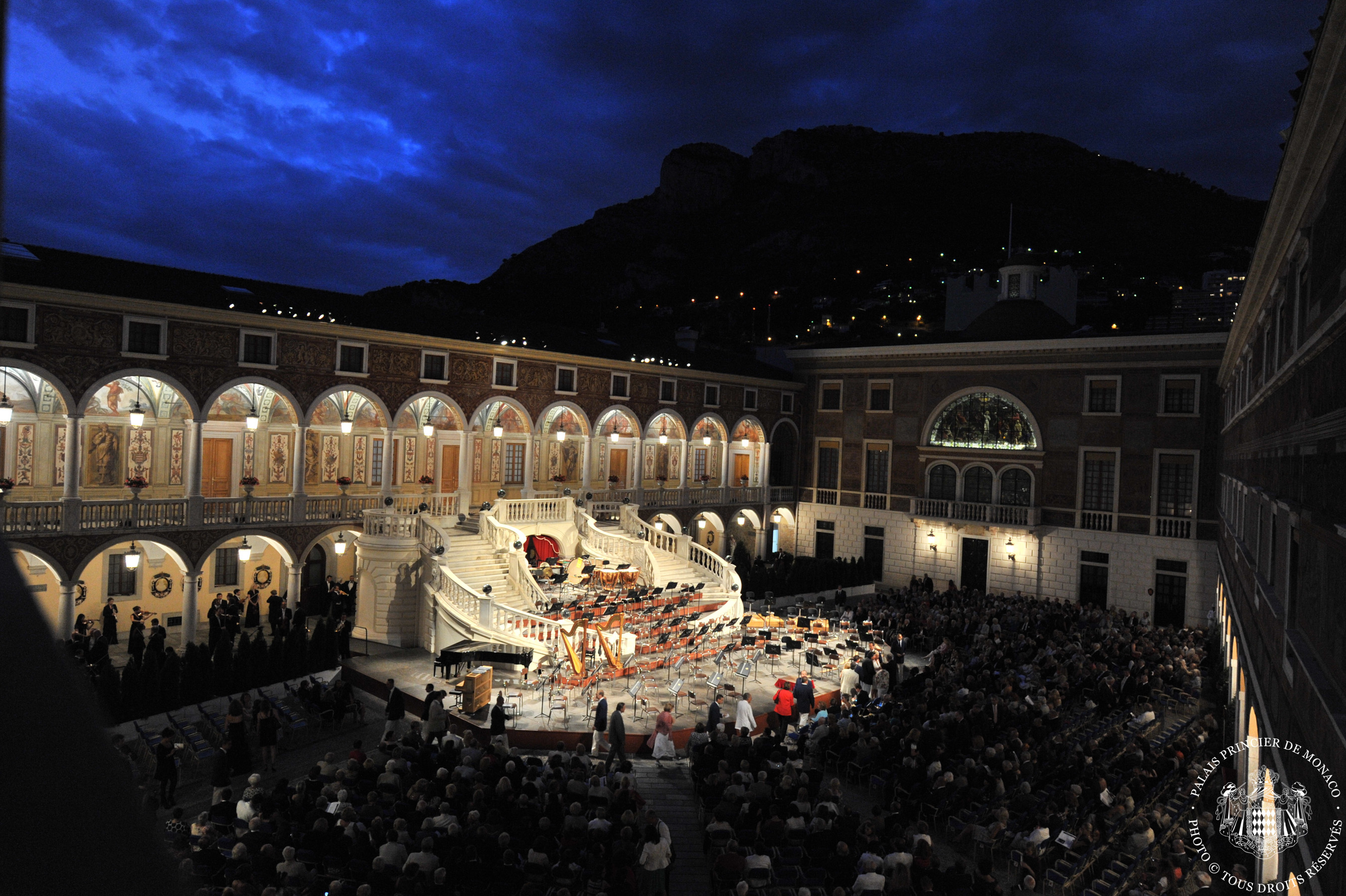 Summer concerts of the Princely Palace in Monaco