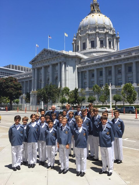 Photo of Monaco boys' choir's North American tour 'a great success'
