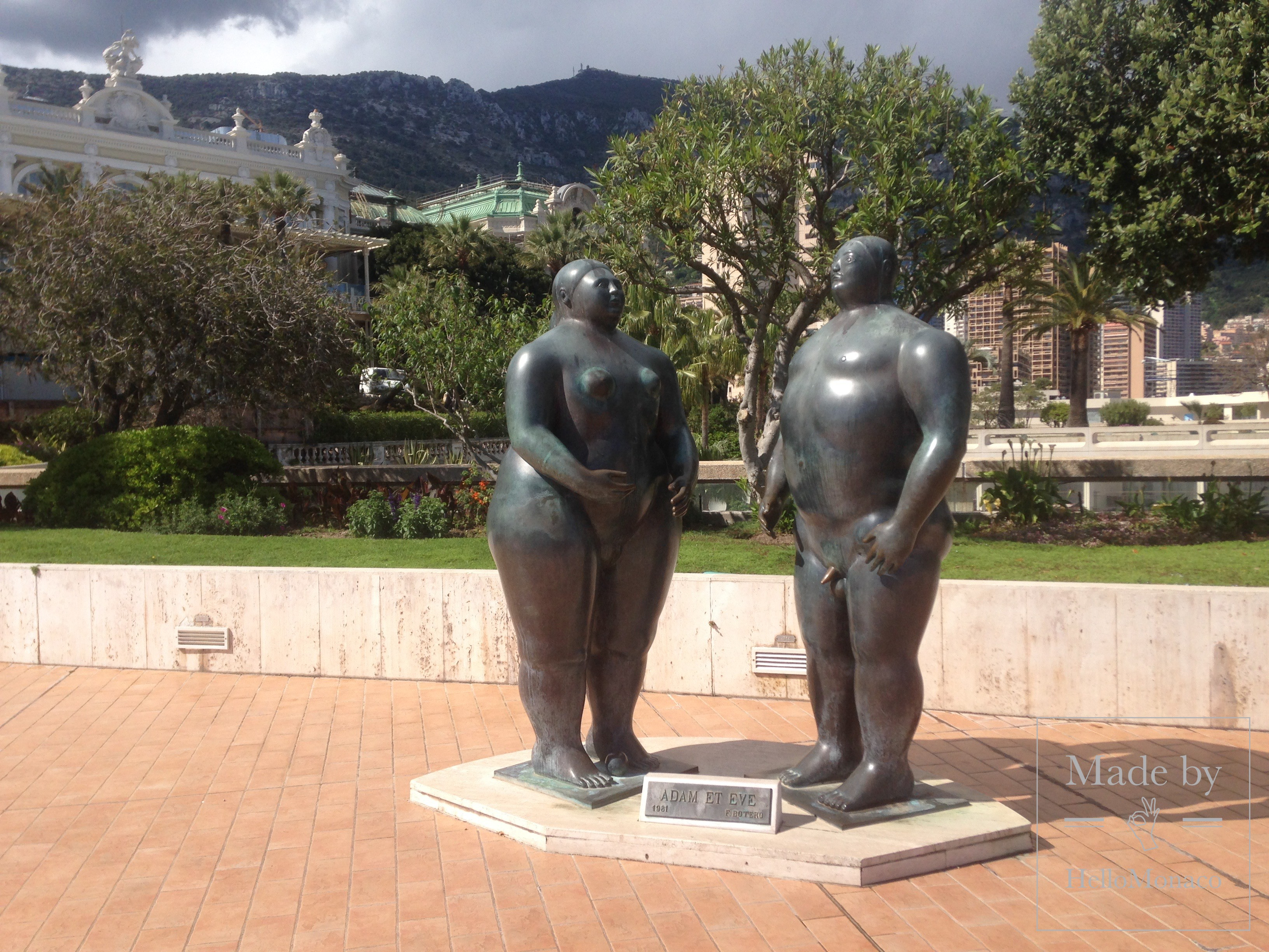 'Adam and Eve' by Fernando Botero