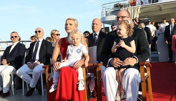 Photo of Princely couple attended Yersin Ship's Launching Ceremony