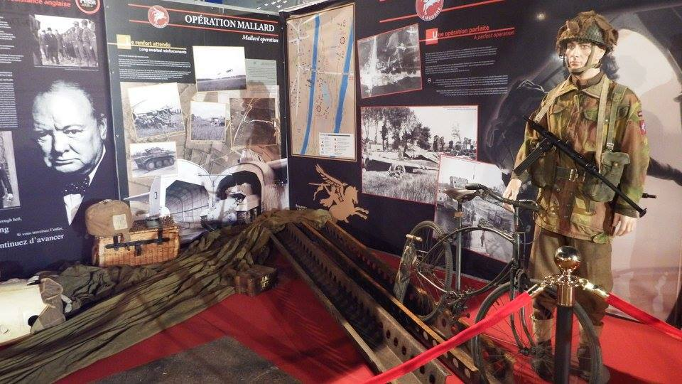 Normandy landing exhibit