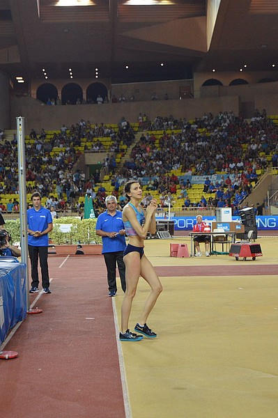 Herculis International Athletics Meeting - Mariya Lasitskene set a new record