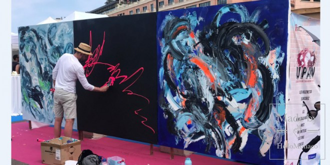 Photo of UPAW: street-art artists in Monaco