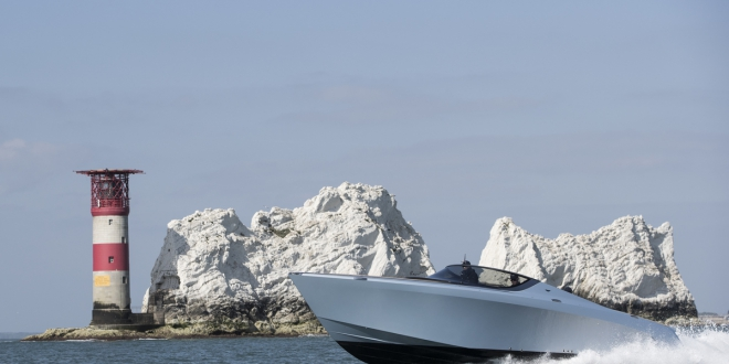 Pictures of the Quintessence Yachts - Aston Martin 37 Credit: Lloyd Images