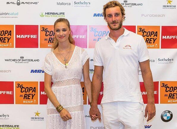 Pierre Casiraghi and Beatrice Boromeo