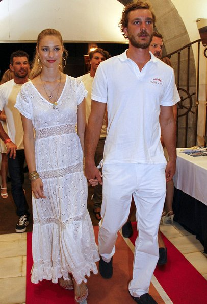 Pierre Casiraghi and Beatrice