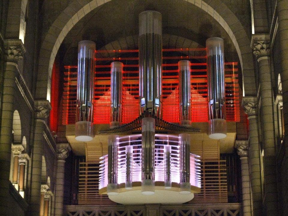 Photo of Organ music makes visual art flourish