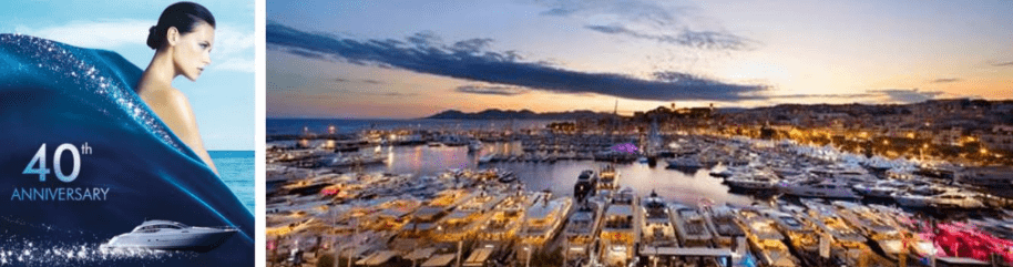The 40th anniversary of the Cannes Yachting Festival