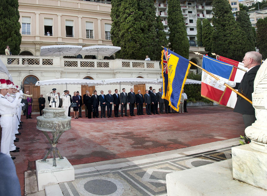 Commemoration of the Liberation in Monaco and the Surrounding Areas
