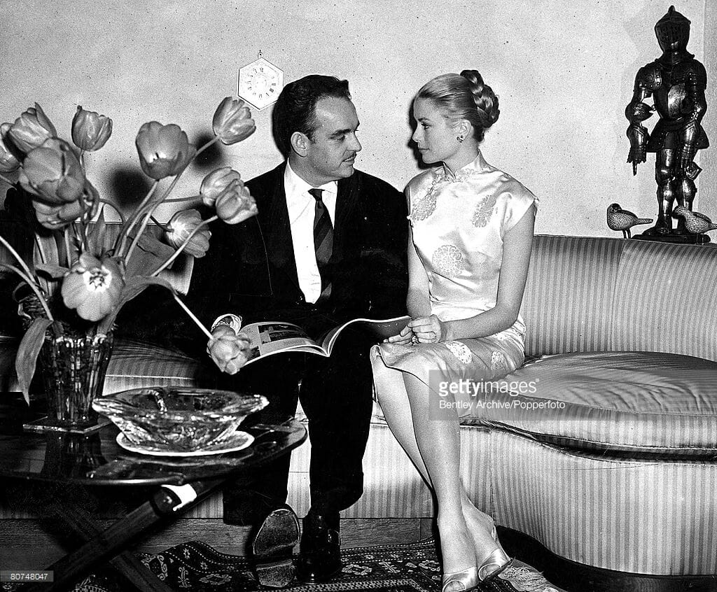 Grace Kelly and Prince Renier III