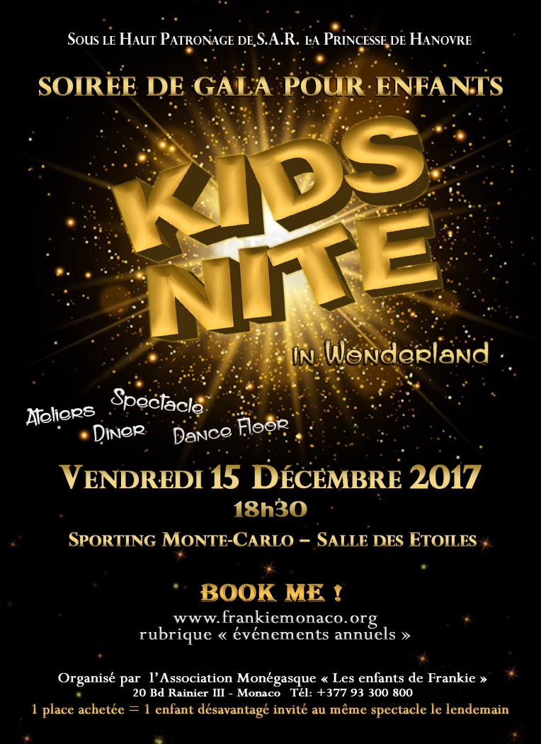 Kids Nite 2017 Gala evening