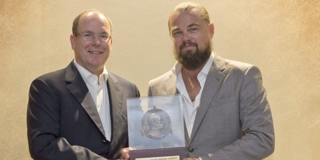 Leonardo DiCaprio and Prince Albert II