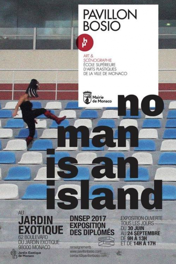 No man is an island exhibition