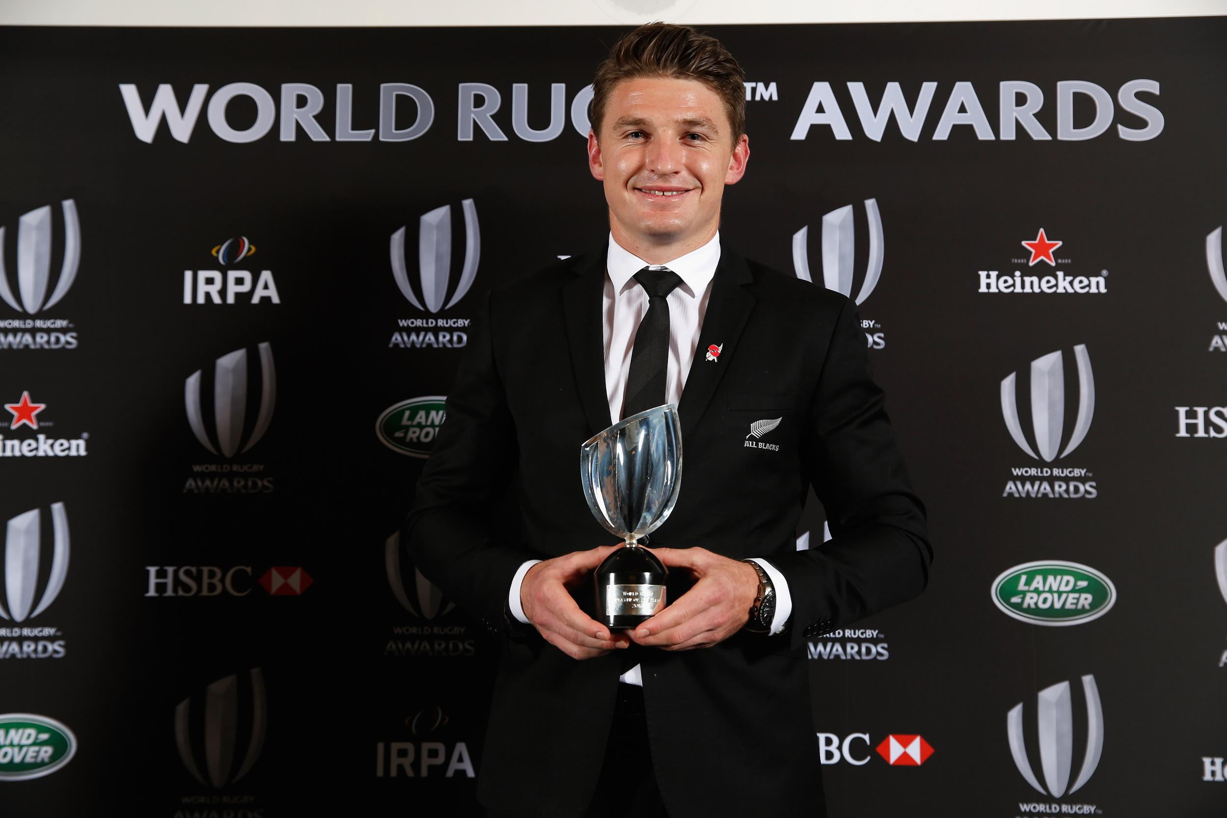 Церемония World Rugby Awards 2017