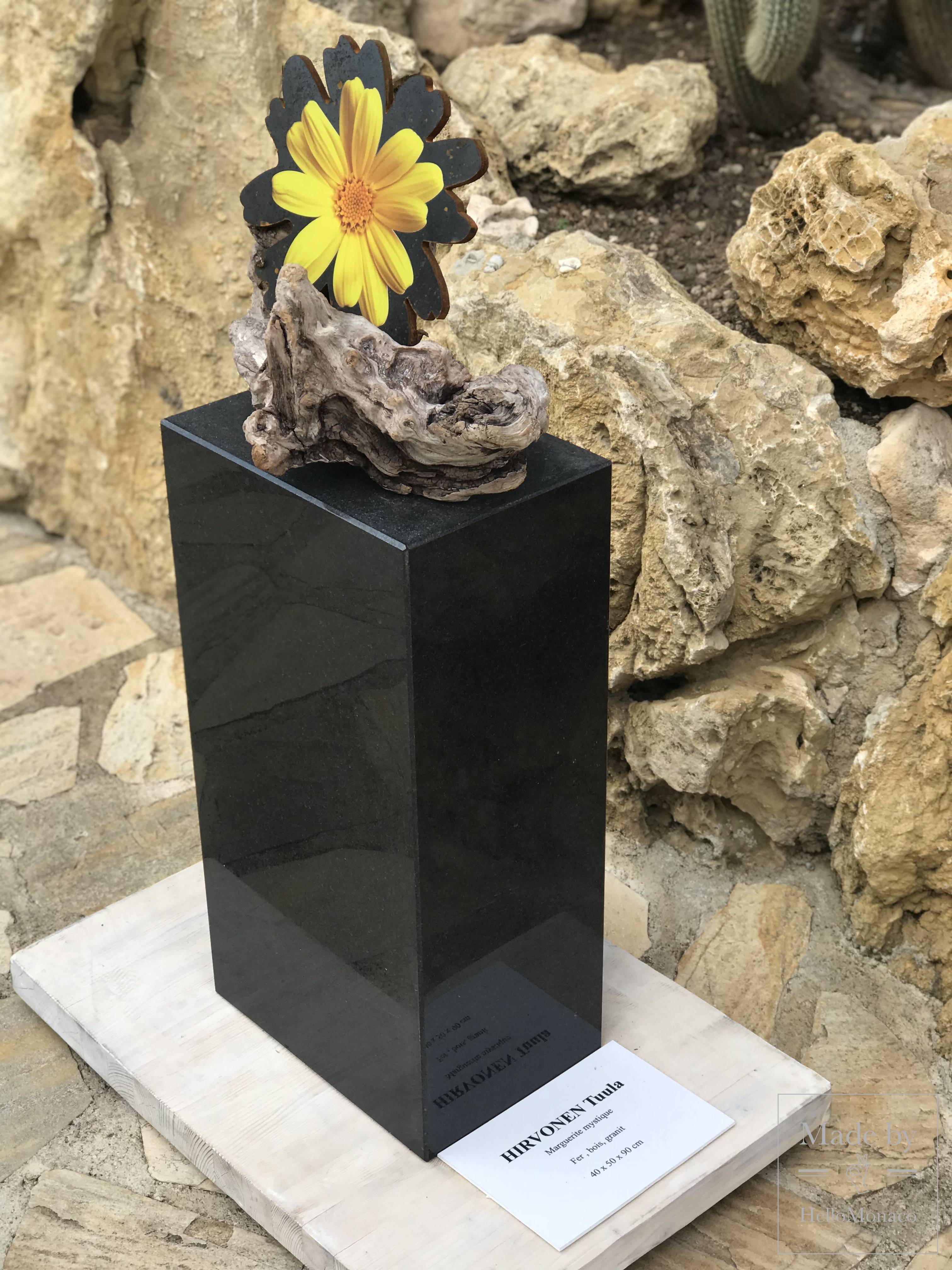 When Sculptures Bloom