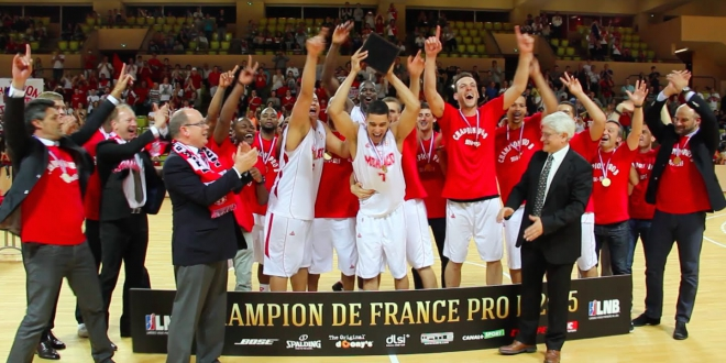 AS Monaco basketball