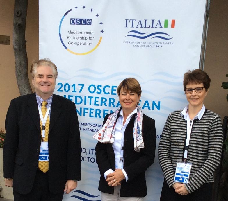 Photo of OSCE Monaco Takes Part in the 2017 Mediterranean Conference