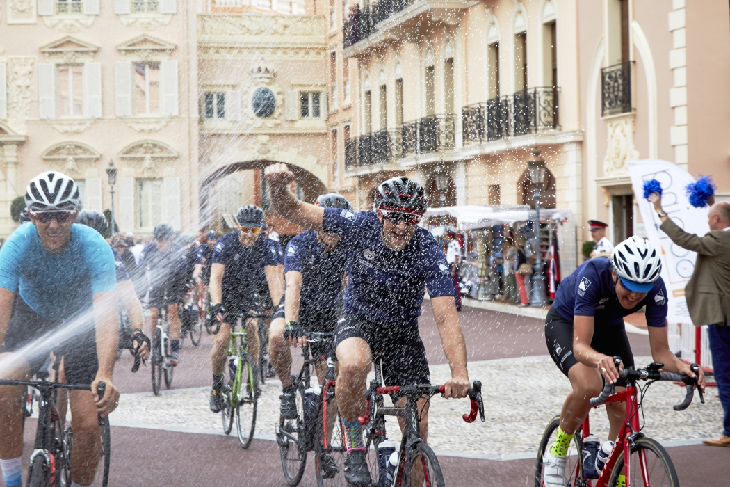 London to Monaco bike challenge