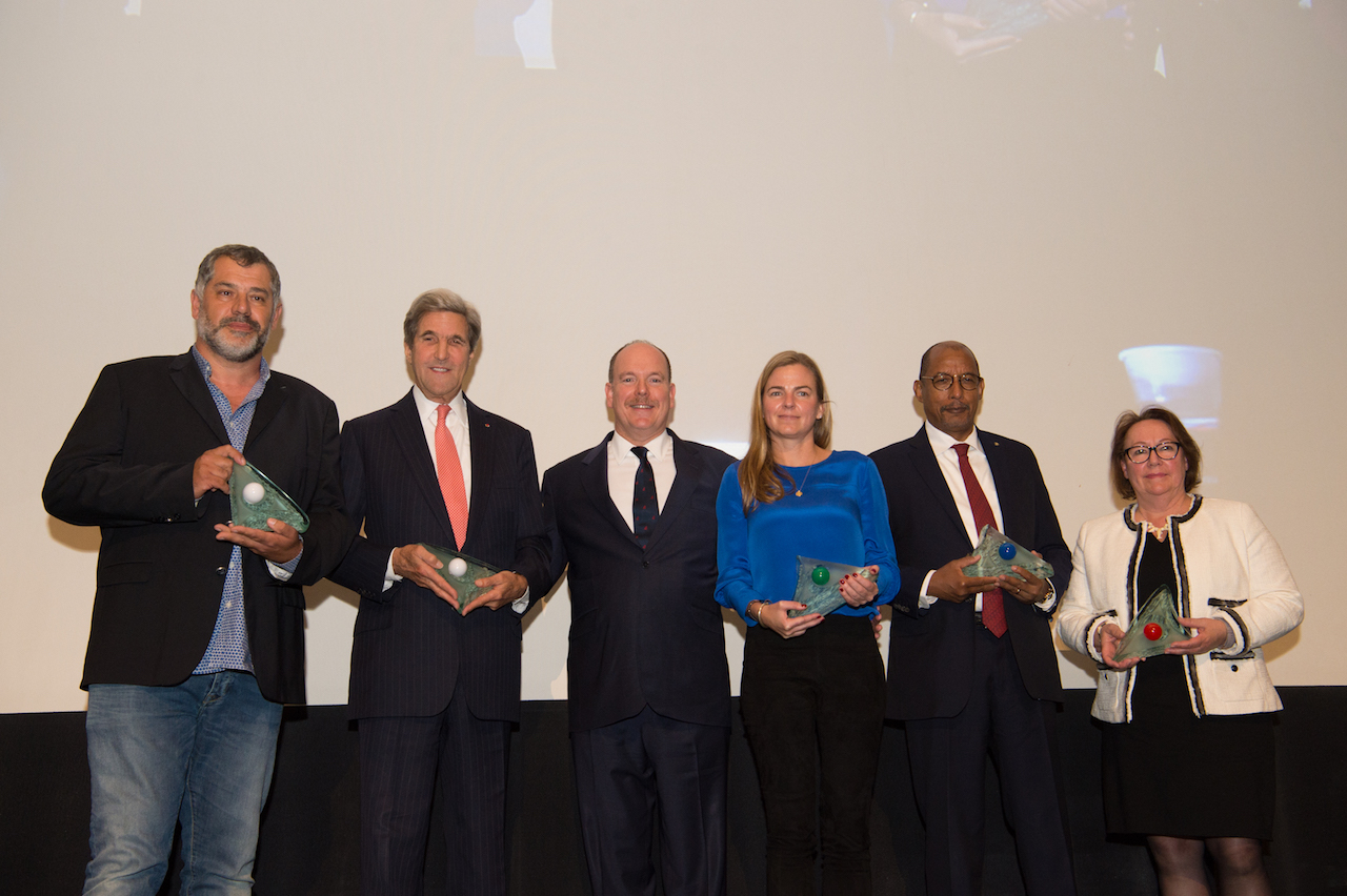 "Photo of ""Committed to saving our planet"": 2017 Prince Albert II Foundation Award Winners"
